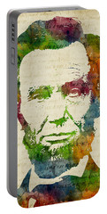 Abraham Lincoln Watercolor Portable Battery Charger