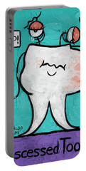 Abscessed Tooth Portable Battery Charger