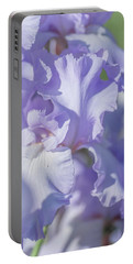 Absolute Treasure Closeup 2. The Beauty Of Irises Portable Battery Charger
