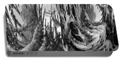 Abstrace Snow Pines Portable Battery Charger