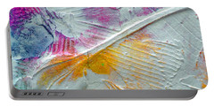 Portable Battery Charger featuring the painting Abstract 1 by Tracy Bonin