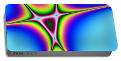 Portable Battery Charger featuring the digital art Abstract 122016 by Maciek Froncisz
