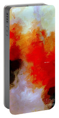 Portable Battery Charger featuring the digital art Abstract 1909f by Rafael Salazar