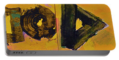 Abstract 2071-diptych Portable Battery Charger
