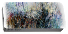 2f Abstract Expressionism Digital Painting Portable Battery Charger
