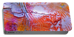 Portable Battery Charger featuring the painting Abstract 3 by Tracy Bonin
