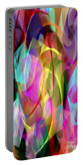 Portable Battery Charger featuring the digital art Abstract 3366 by Rafael Salazar