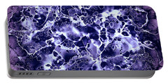 Portable Battery Charger featuring the painting Abstract 4 by Patricia Lintner