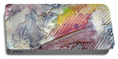 Portable Battery Charger featuring the painting Abstract 4 by Tracy Bonin