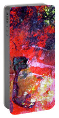 Portable Battery Charger featuring the painting Abstract 6539 by Stephanie Moore