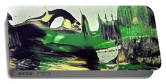 Portable Battery Charger featuring the painting Abstract 6551 by Stephanie Moore