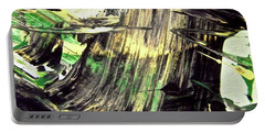 Portable Battery Charger featuring the painting Abstract 6554 by Stephanie Moore