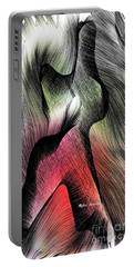 Portable Battery Charger featuring the digital art Abstract 785 by Rafael Salazar