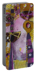 Abstract 86 Portable Battery Charger by Karin Husty