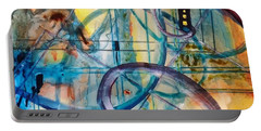 Abstract Appeal Portable Battery Charger