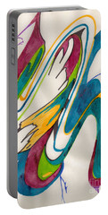 Abstract Art 103 Portable Battery Charger