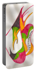 Abstract Art 104 Portable Battery Charger