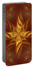 Abstract Art - The Harmony Of A Precious Soul By Rgiada Portable Battery Charger