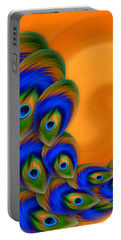 Abstract Art - Vanity Vortex By Rgiada Portable Battery Charger