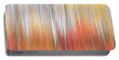 Abstract Autumn Portable Battery Charger
