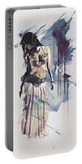 Abstract Bellydancer Portable Battery Charger