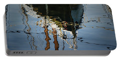 Abstract Boat Reflection IIi Portable Battery Charger