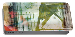 Abstract Bridge With Color Portable Battery Charger by Susan Stone