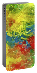 Abstract Bubble Feathers Portable Battery Charger