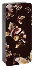 Abstract Butterfly Fine Art Portable Battery Charger