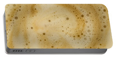 Portable Battery Charger featuring the photograph Abstract Coffee by Brian Roscorla