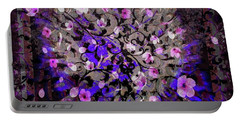 Abstract Cherry Blossom Portable Battery Charger