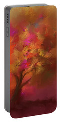 Abstract Colourful Tree Portable Battery Charger