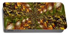 Abstract Cornfield 1 Portable Battery Charger