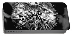 Abstract Dandelion Portable Battery Charger