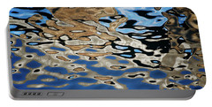 Abstract Dock Reflections I Color Portable Battery Charger