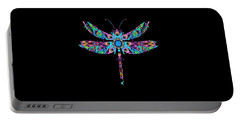 Abstract Dragonfly Portable Battery Charger