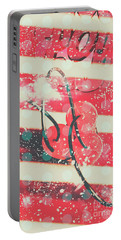Abstract Dynamite Charge Portable Battery Charger