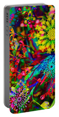 Abstract Electric Garden Portable Battery Charger
