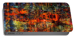 Abstract Evening Portable Battery Charger