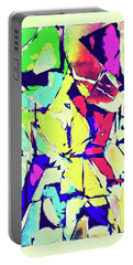 Abstract Explosion Portable Battery Charger