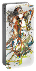 Portable Battery Charger featuring the painting Abstract Expressionism Painting Series 1039.050812 by Kris Haas