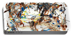 Portable Battery Charger featuring the painting Abstract Expressionism Painting Series 1042.050812 by Kris Haas