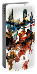 Abstract Expressionism Painting Series 750.102910 Portable Battery Charger