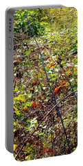 Abstract Fall Thicket Portable Battery Charger