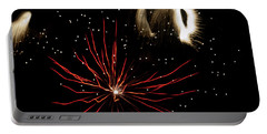 Abstract Fireworks IIi Portable Battery Charger