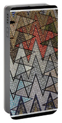 Abstract Floor  Portable Battery Charger