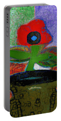 Abstract Floral Art 105 Portable Battery Charger