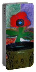 Abstract Floral Art 108 Portable Battery Charger
