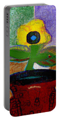 Abstract Floral Art 112 Portable Battery Charger