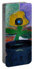 Abstract Floral Art 115 Portable Battery Charger